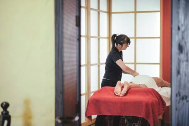 Anti Stress Massage im Syltness Center