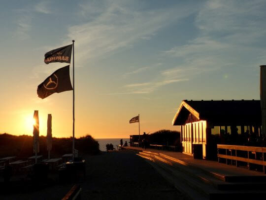Sansibar im Sonnenuntergang