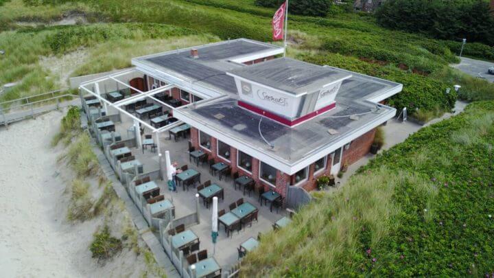 Seenot Restaurant Von Oben