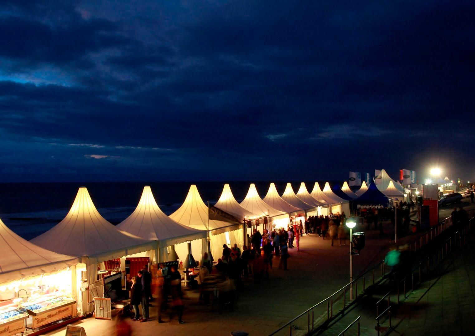 Veranstaltungen auf der Westerländer Promenade